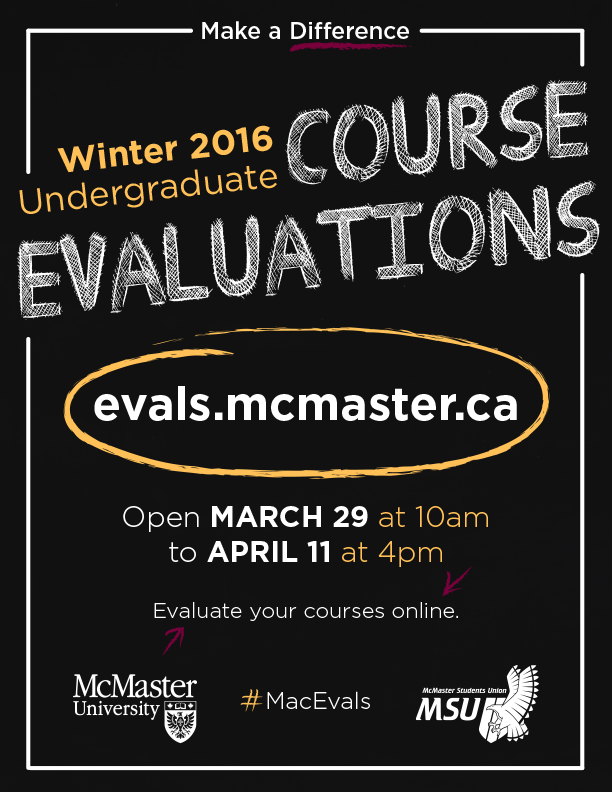 Course Evals!